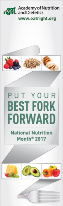 National Nutrition Month - Put Your Best Fork Forward