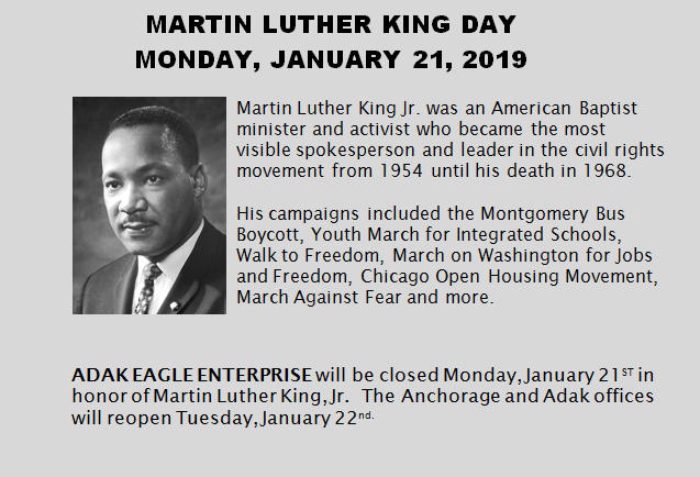 MLK Office Closure