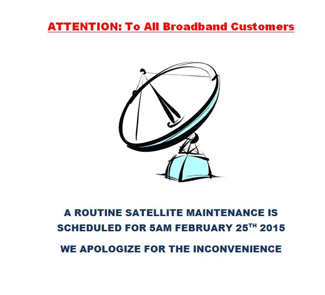 satellite maintenance