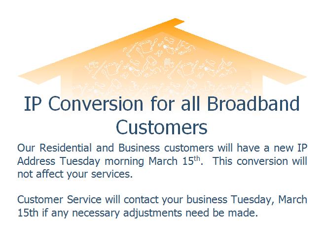Adak IP Conversion