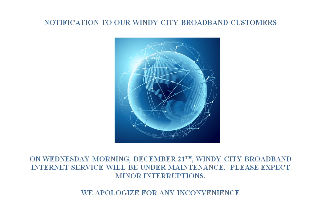 broadband maintenance